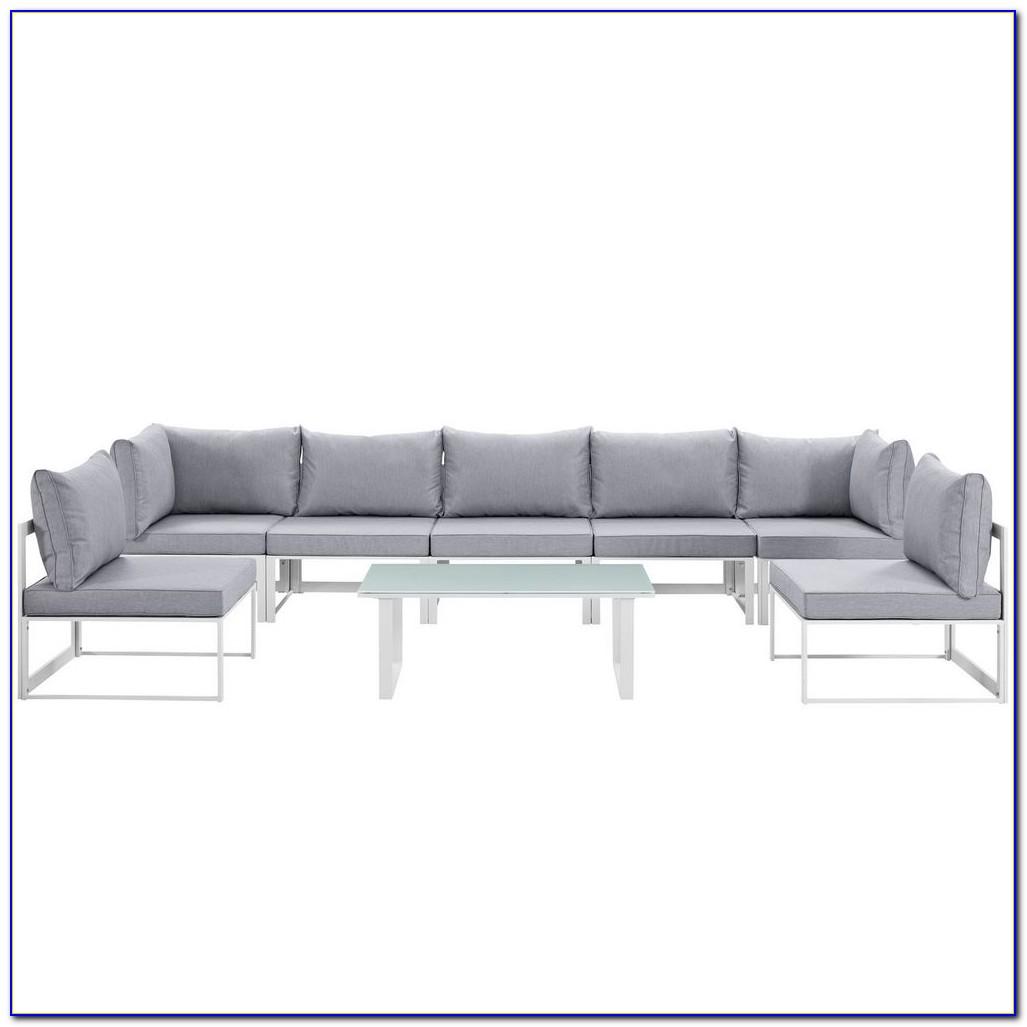 8 Piece Modular Sectional Sofa