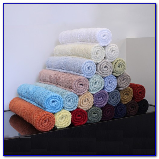All Cotton Reversible Bath Rugs