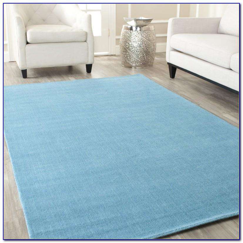 Aqua Blue Accent Rugs