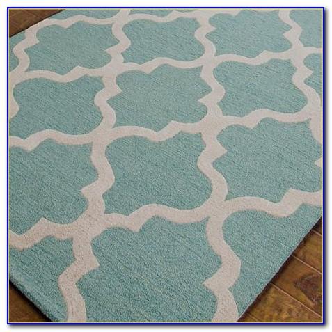 Aqua Blue Floor Rugs