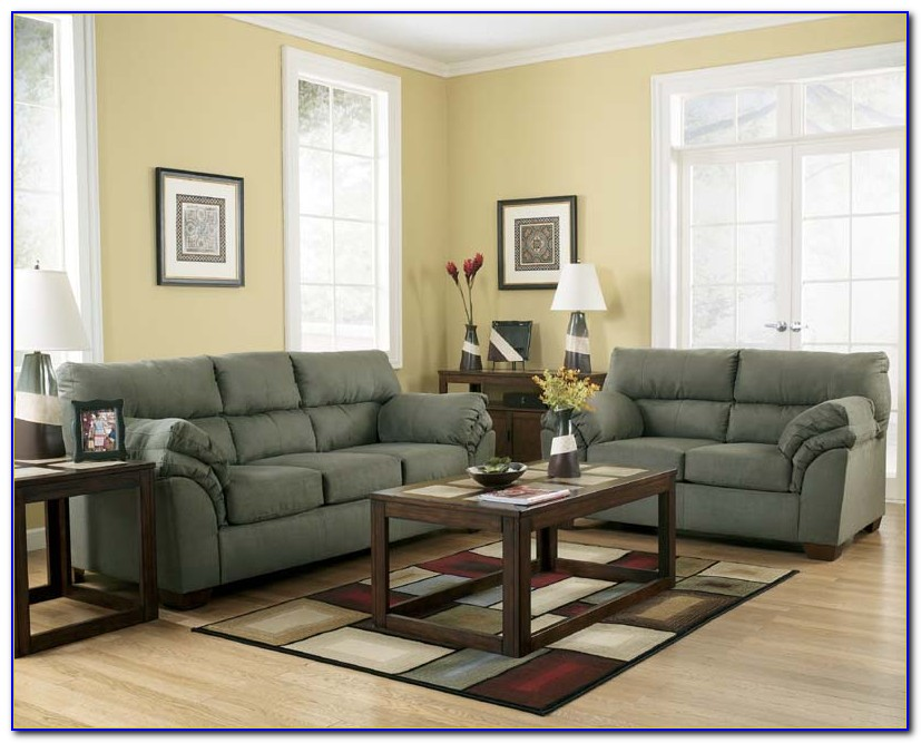 Ashley Furniture Leather Sofa Sets