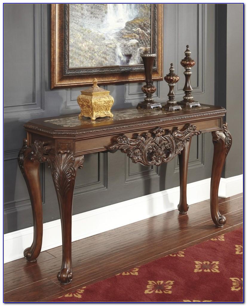 Ashley Furniture Norcastle Sofa Table