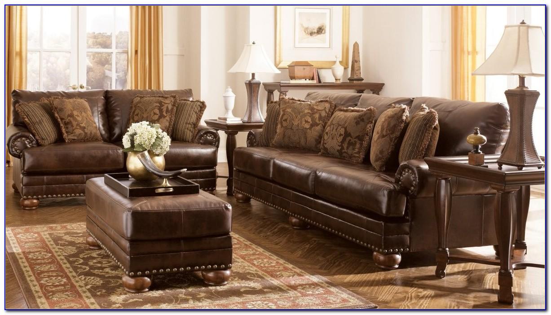 Ashley Furniture Reclining Sofa Sets