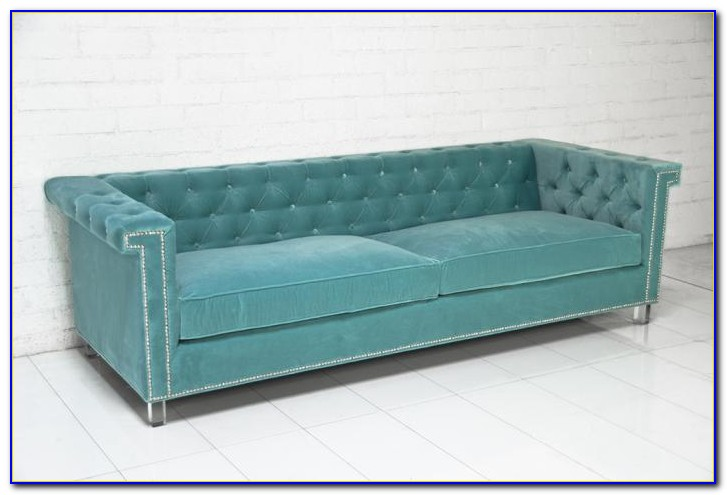 Ava Velvet Tufted Sleeper Sofa Uk