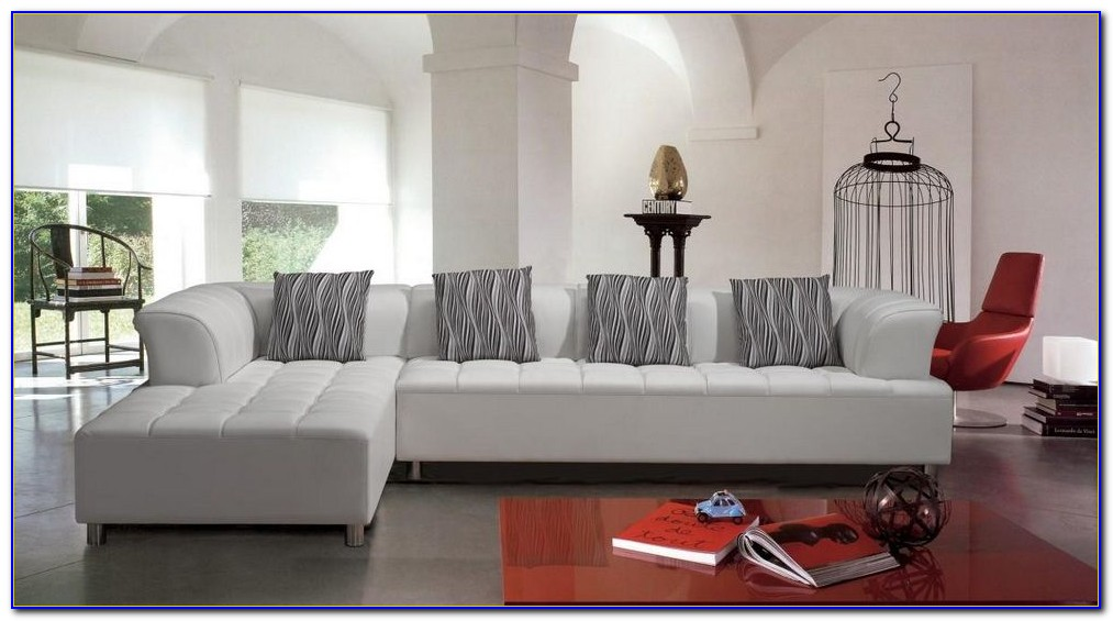 Bonded Leather Sectional Sofa Bed