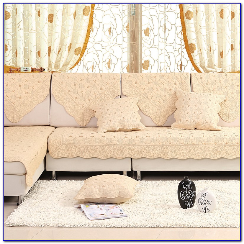 Bonded Leather Sofa Cushion Covers