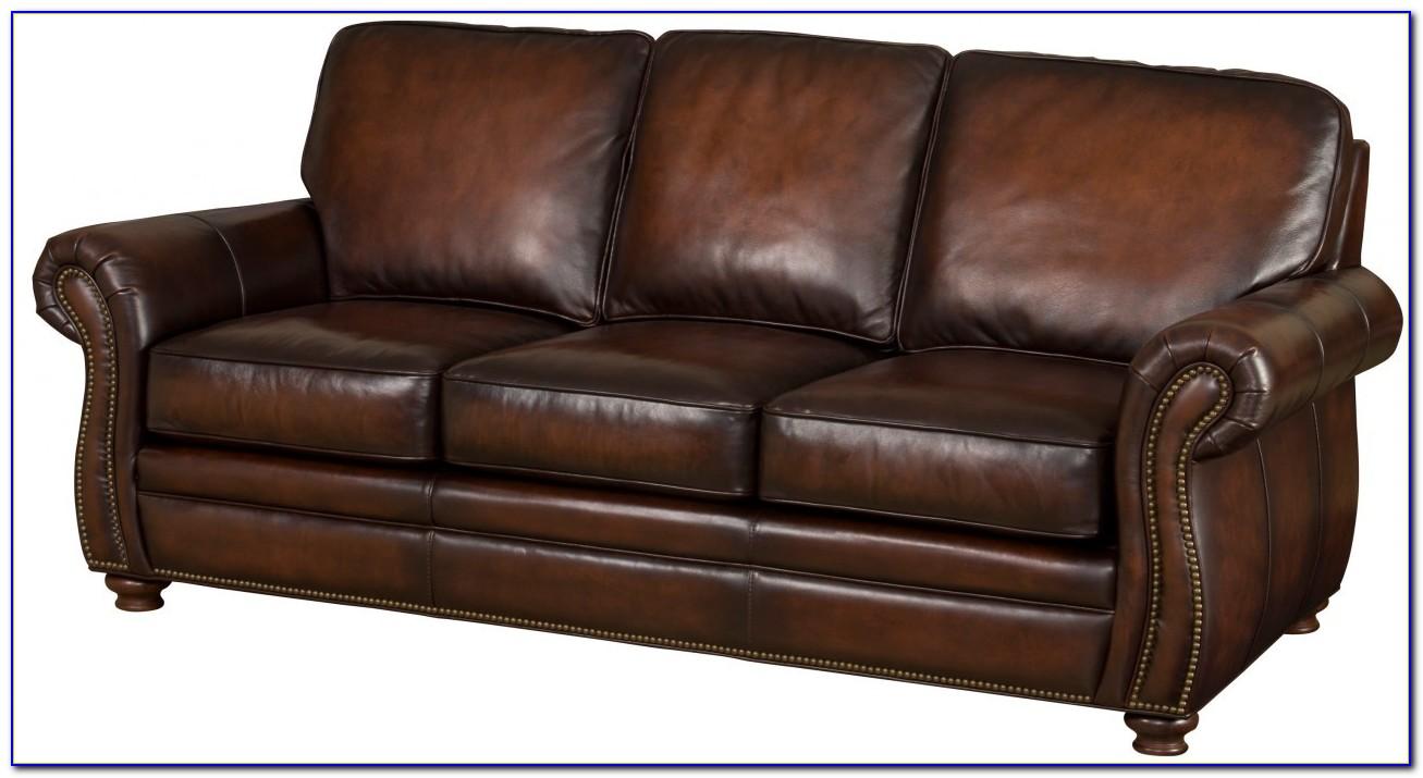 Bradington Young Leather Motion Sofa