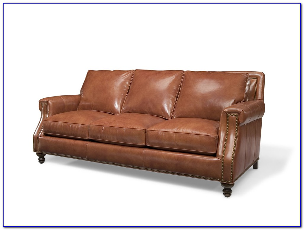 Bradington Young Richardson Leather Sofa