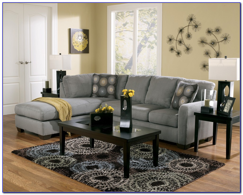 Charcoal Grey Sectional Couches