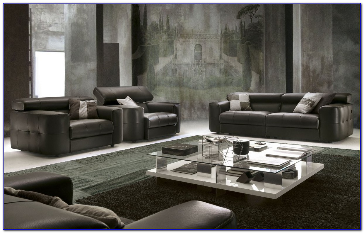 Chateau Dax Leather Couches