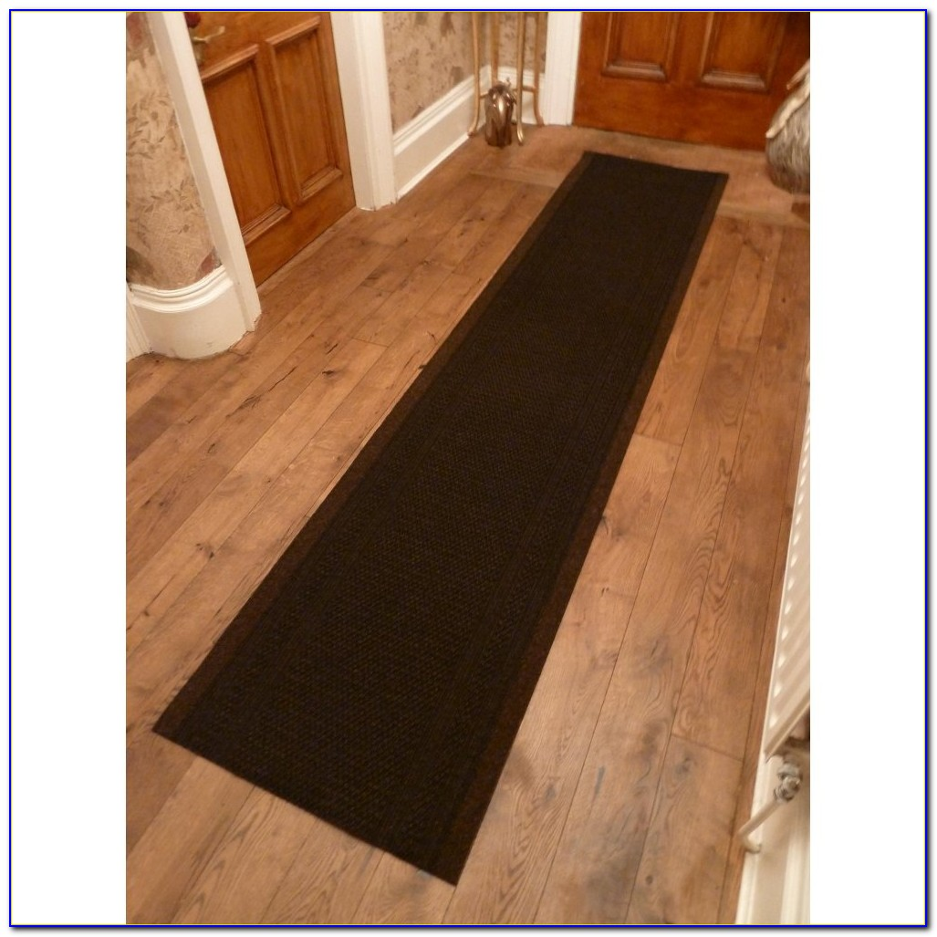 Chocolate Brown Runner Rug
