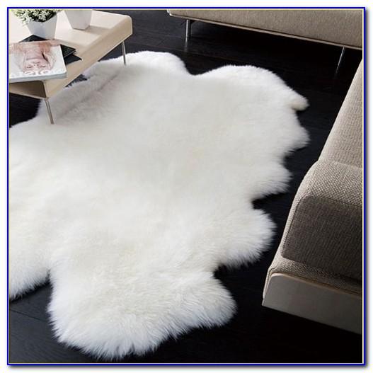Clean Real Sheepskin Rug