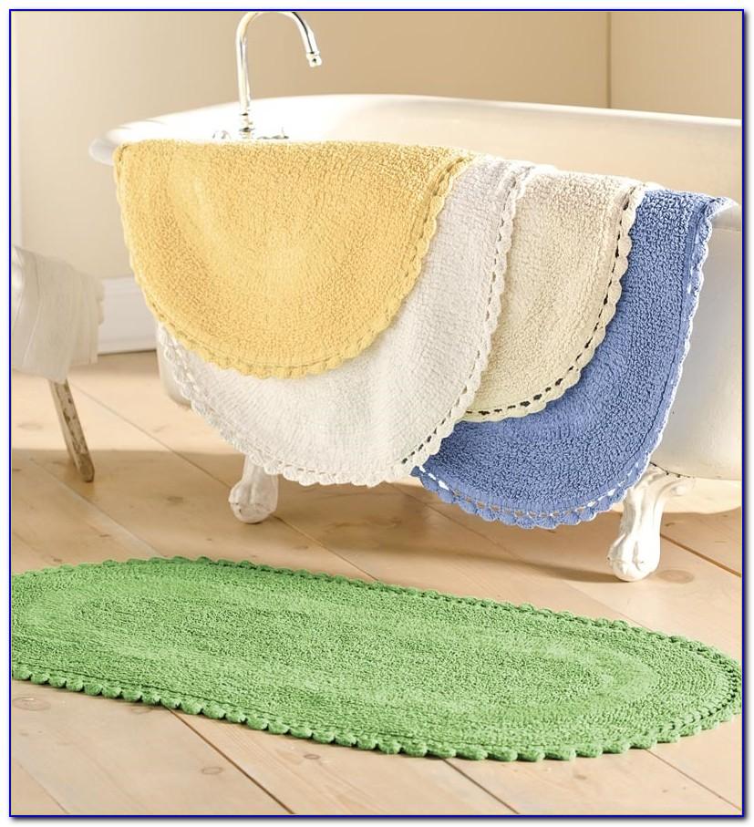 Company Cotton Reversible Bath Rugs