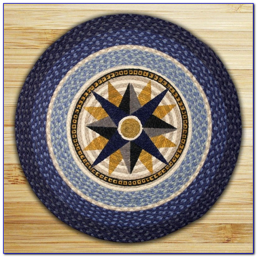 Compass Rose Outdoor Rug