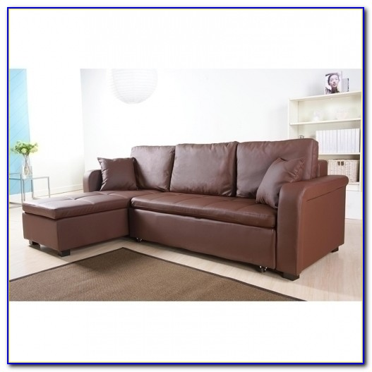 Convertible Sectional Sofa Bed With Storage