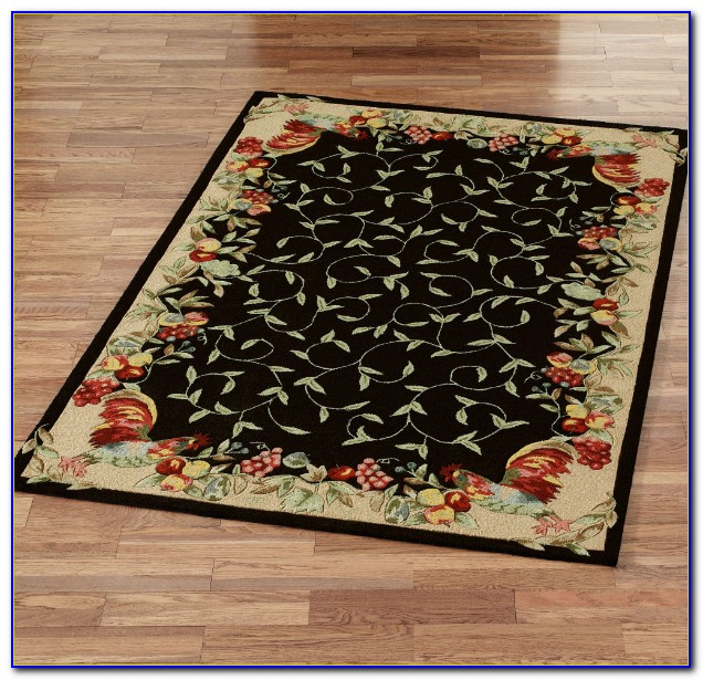 Country Rooster Area Rugs