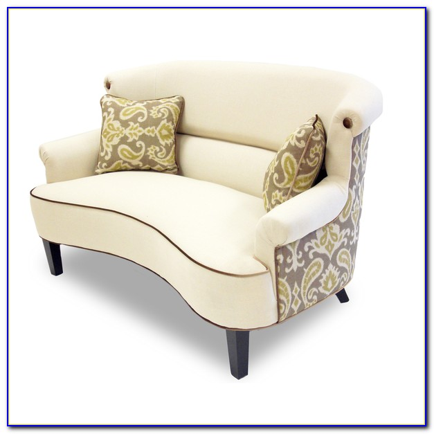 Curved Back Sofas And Loveseats