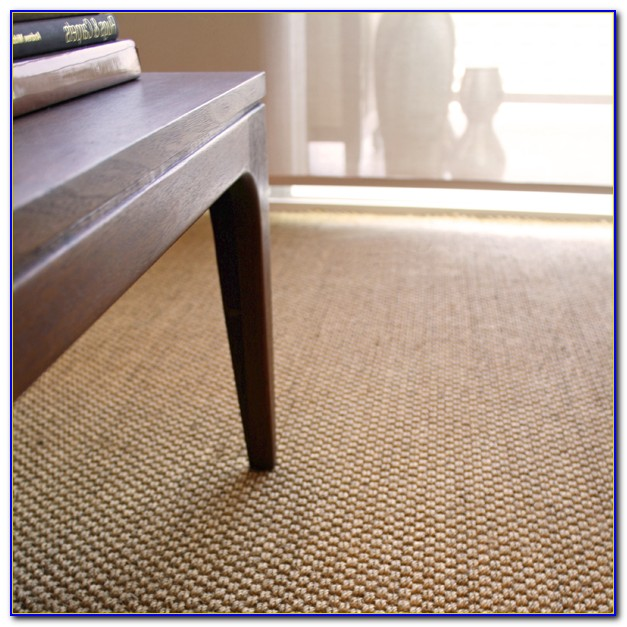 Custom Sisal Rug With Border