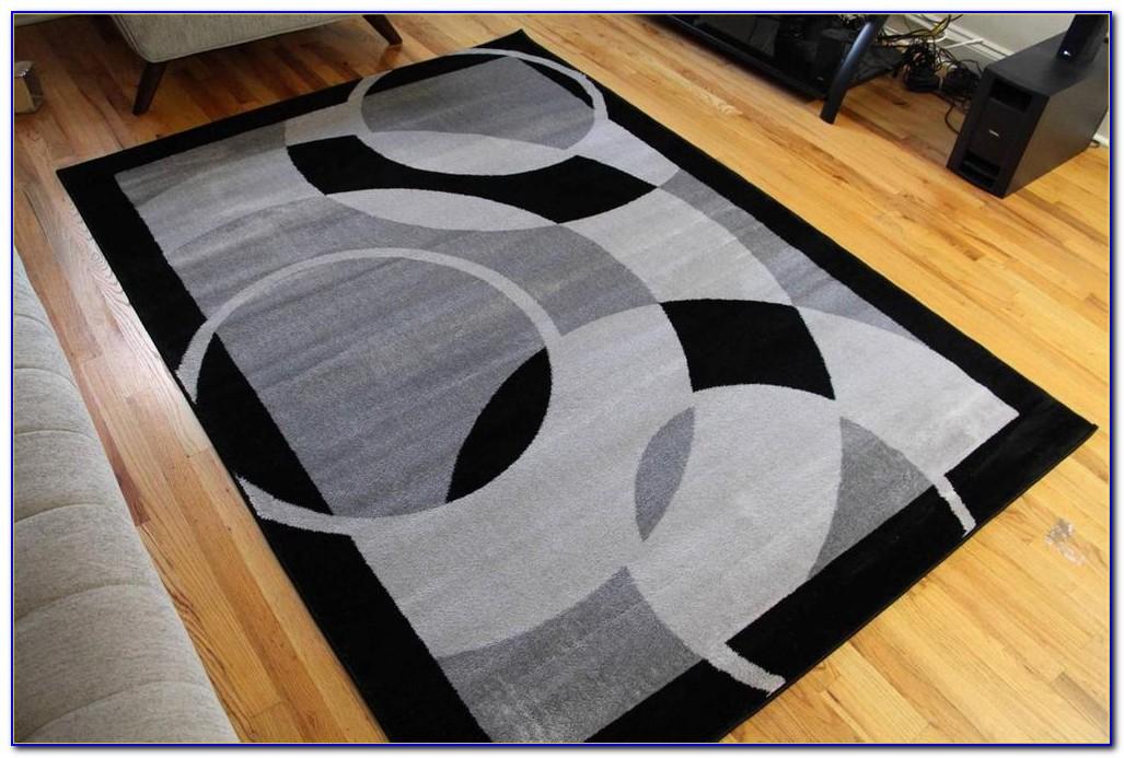 Dark Gray Rug 8x10