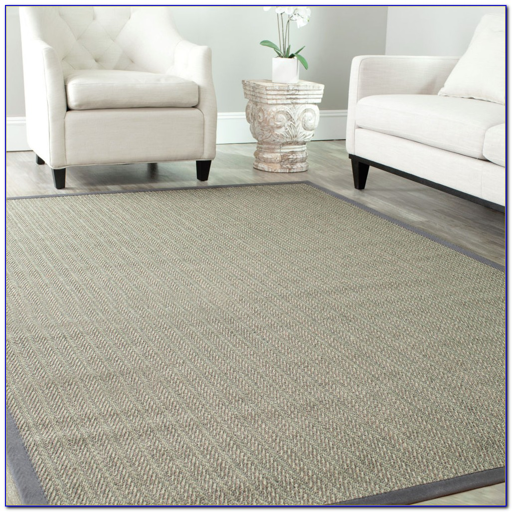 Dark Grey Sisal Rug