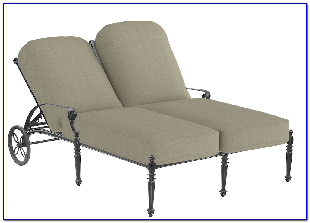 Double Chaise Lounge Indoor Furniture