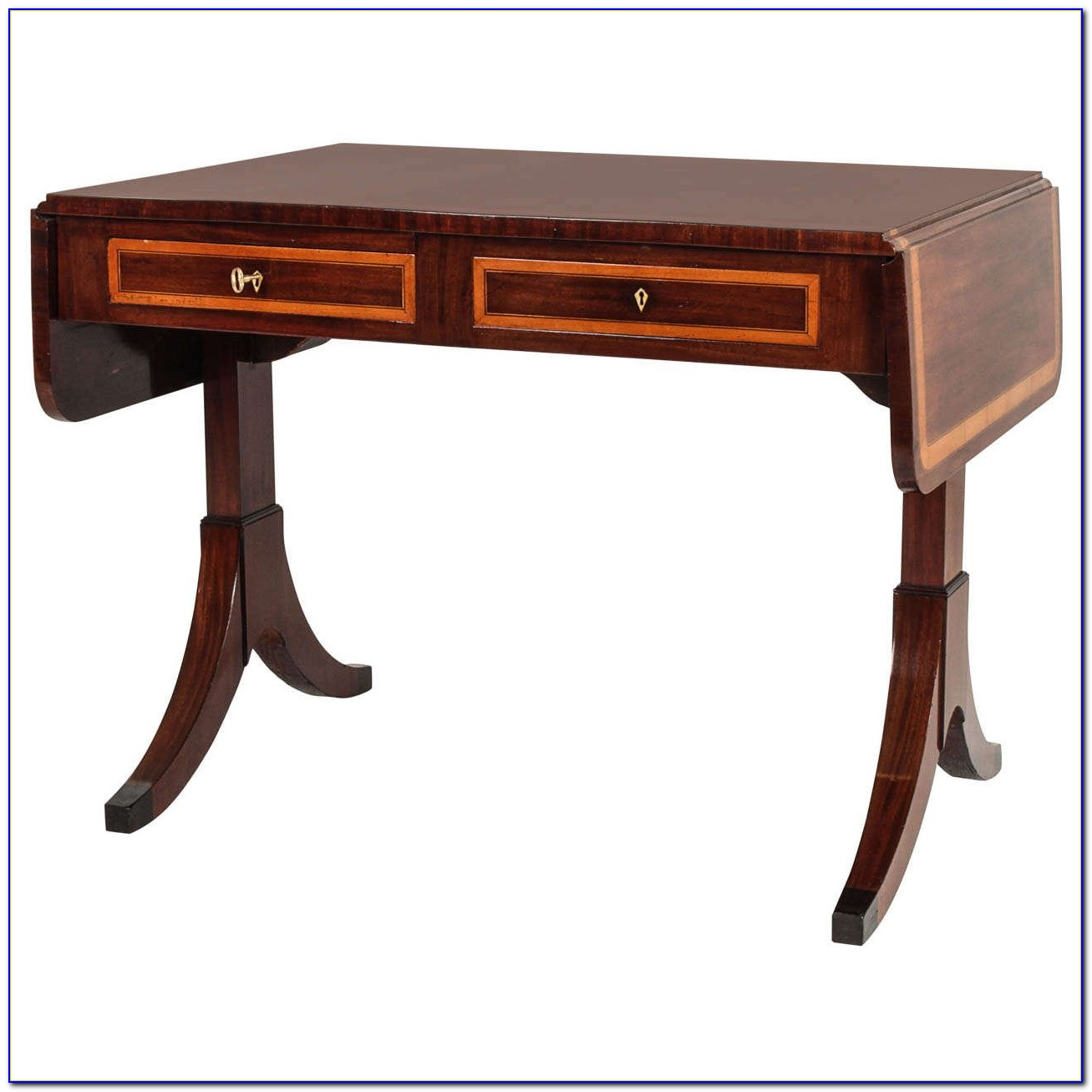Drop Leaf Sofa Console Tables