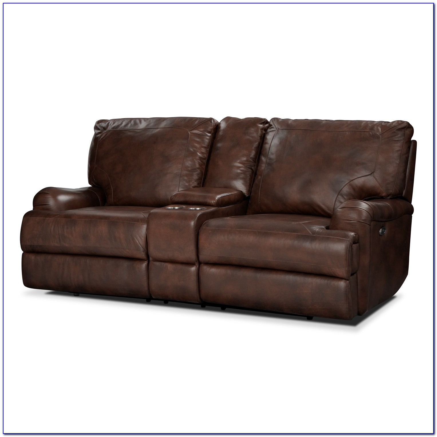 Dual Reclining Sofa With Console