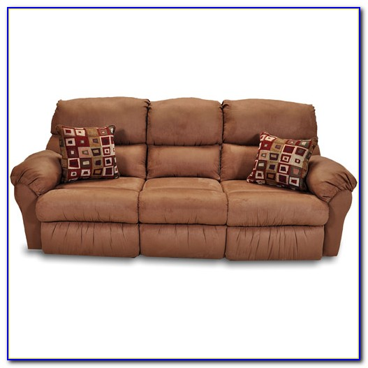 Eli Reclining Sofa With Drop Down Table