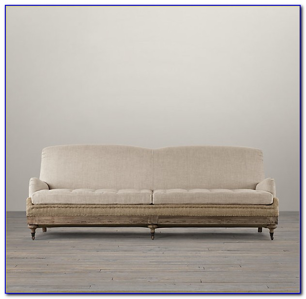 English Roll Arm Sofa Tight Back