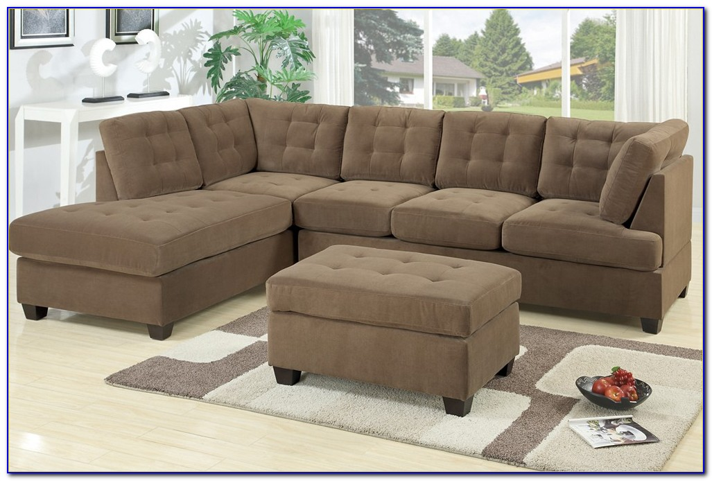 Fabric Sectional Sofas With Ottoman