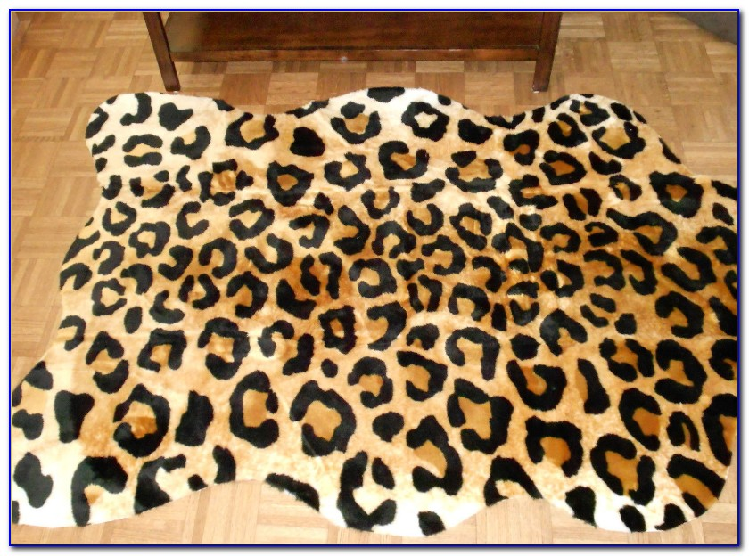 Faux Animal Skin Rugs With Head