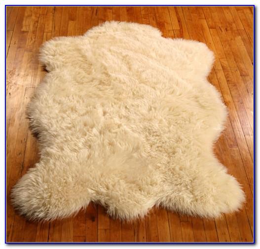 Faux Sheepskin Rug 3x5