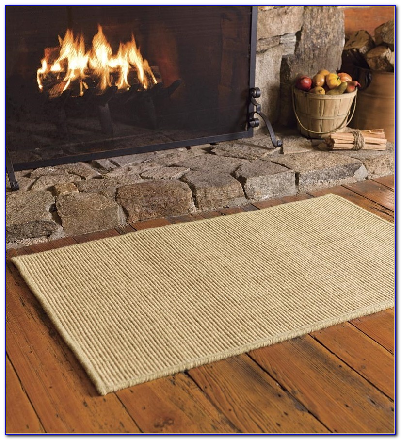 Fire Resistant Fireplace Rugs