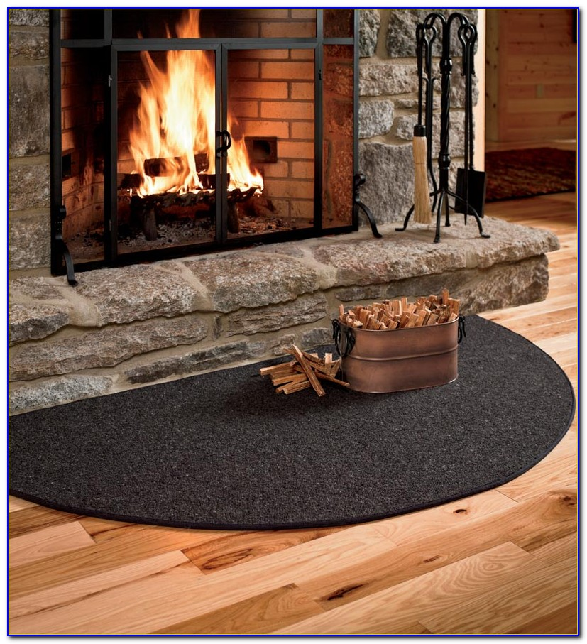 Fire Resistant Wool Hearth Rugs