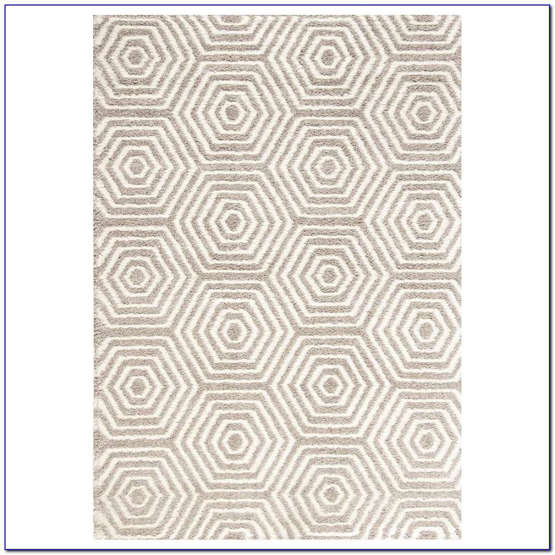 Geometric Grey Rug Australia