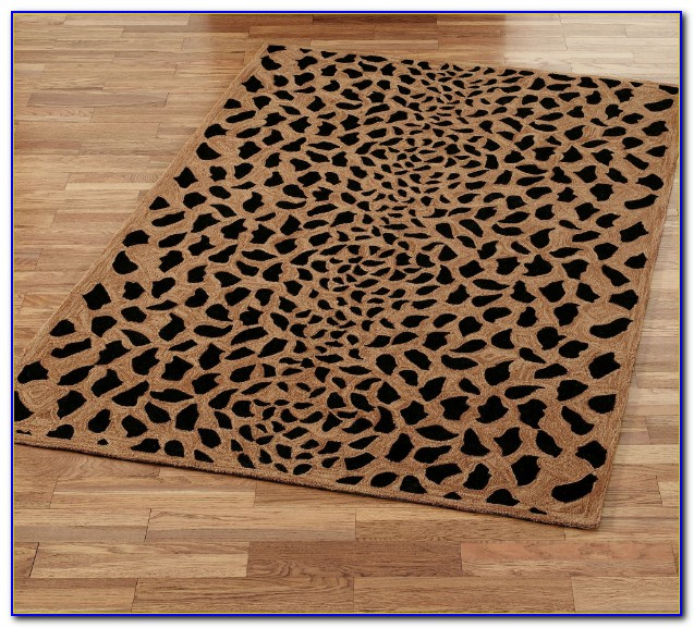 Gold Plush Bath Rugs