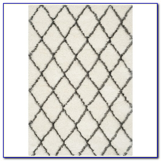 Grey Geometric Rug Canada