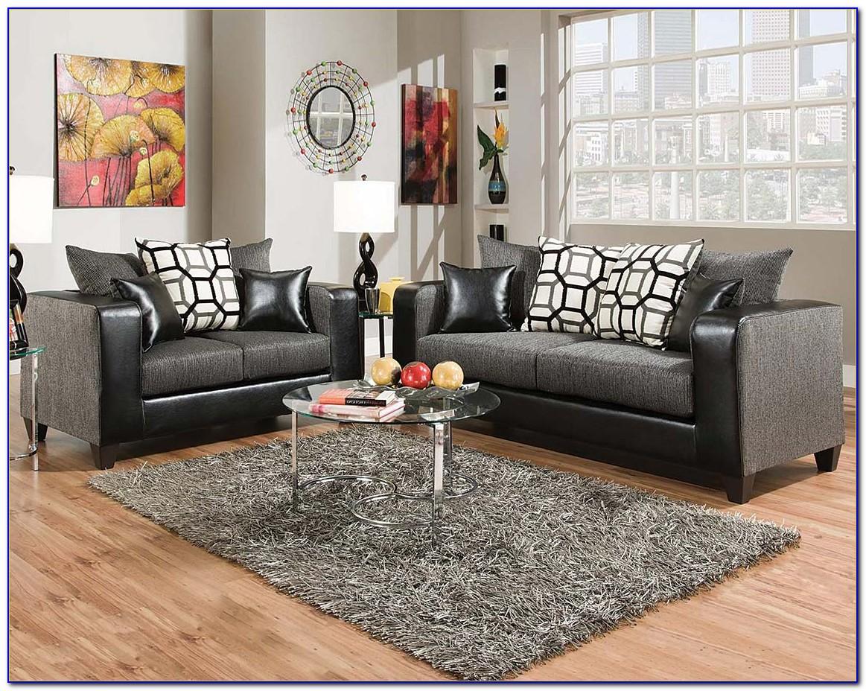 Grey Reclining Sofa And Loveseat