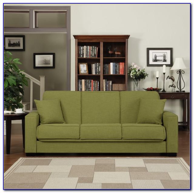Handy Living Convert A Couch Chenille Sleeper Sofa