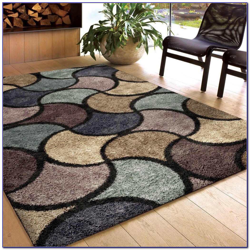 High Pile Wool Area Rug