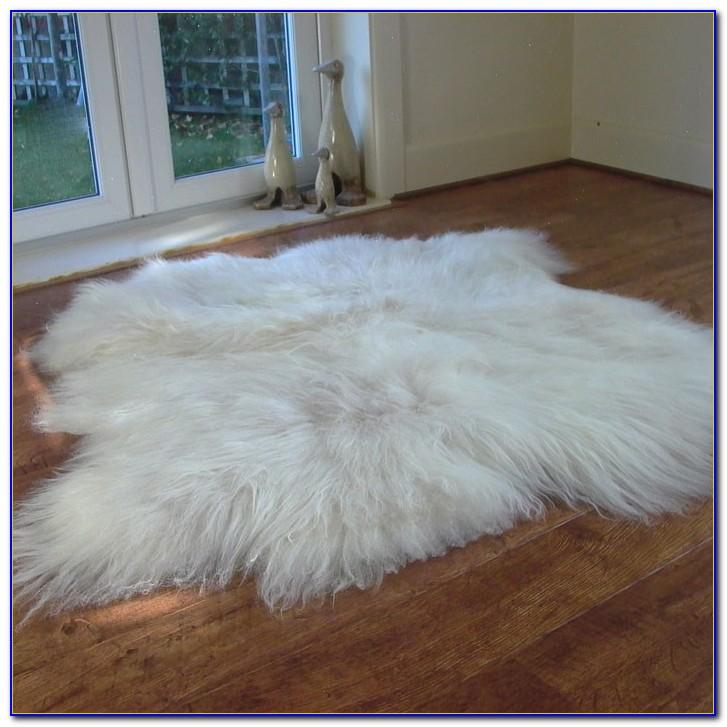 Icelandic Sheepskin Rug White