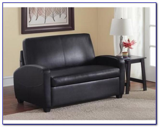 Ikea Black Leather Sleeper Sofa