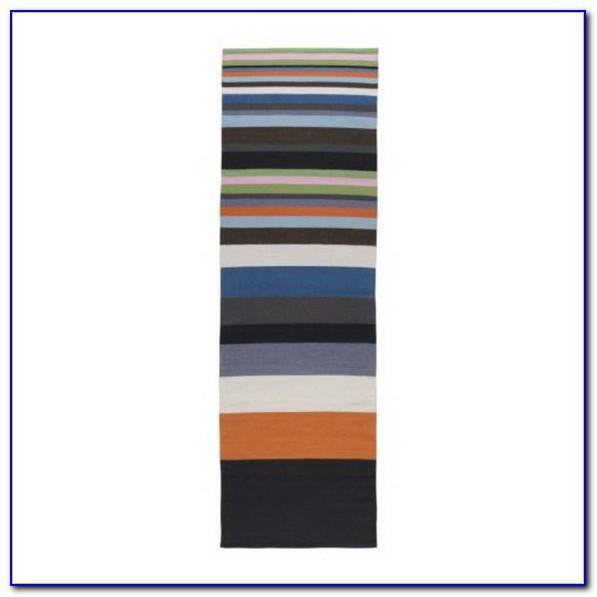 Ikea Rainbow Striped Rug