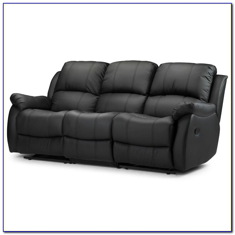 La Z Boy Leather Reclining Sofa