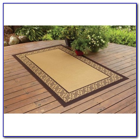 Large Outdoor Bamboo Rugs