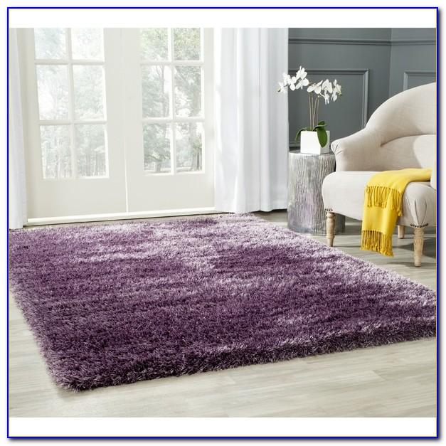 Lavender Shag Rug