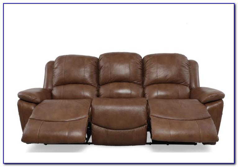 Lazy Boy Black Leather Reclining Sofa