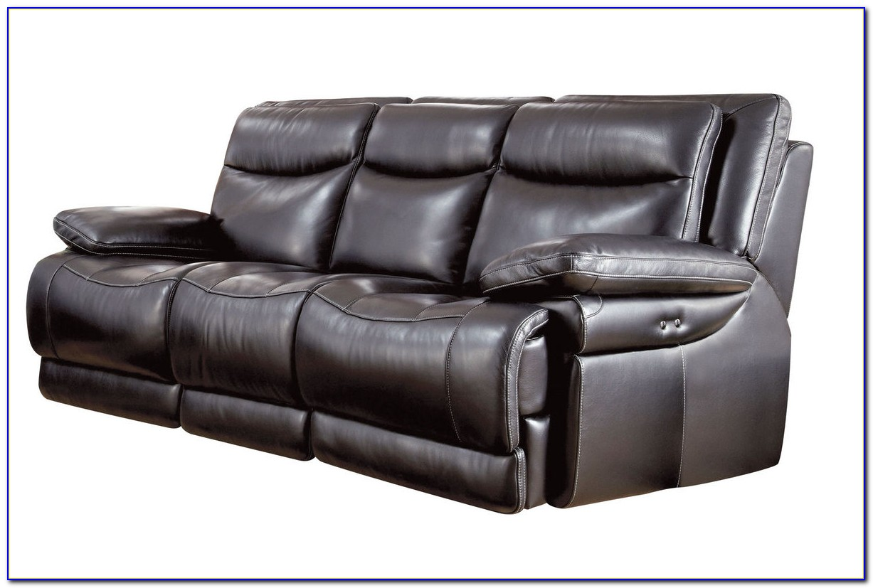 Leather Power Reclining Sofa And Loveseat