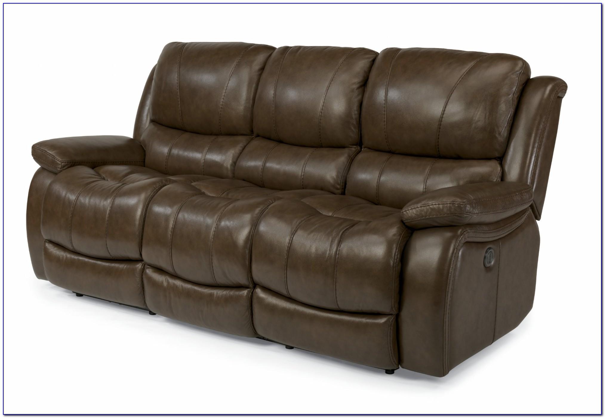 Leather Power Reclining Sofa Ashley
