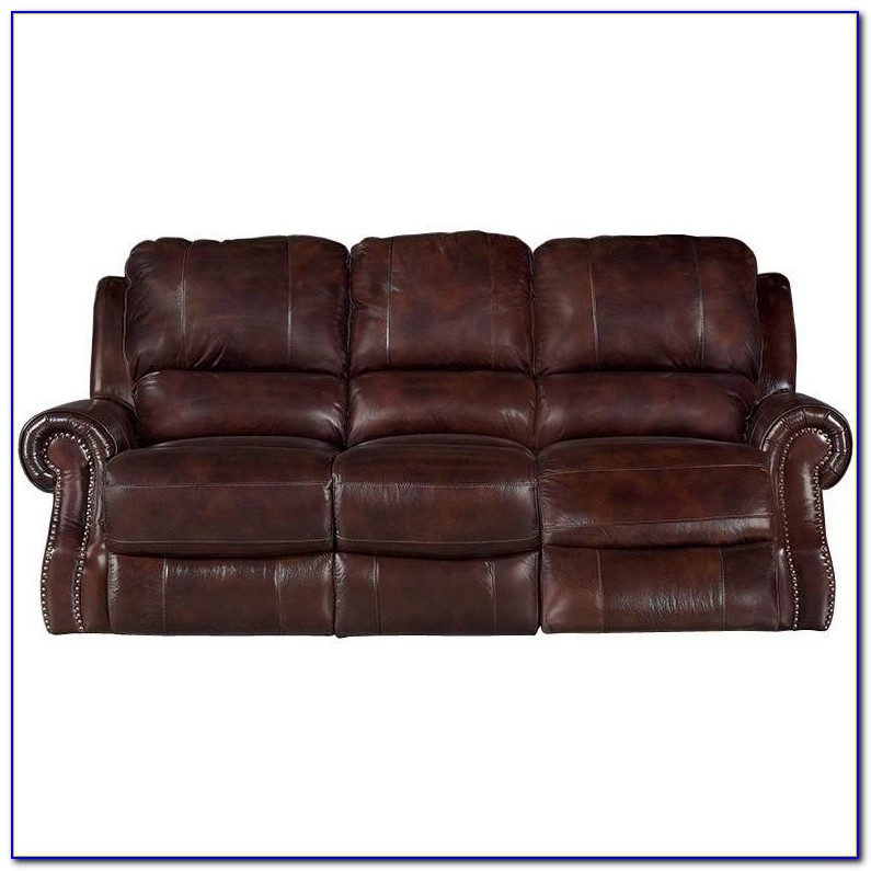 Leather Power Reclining Sofa Set